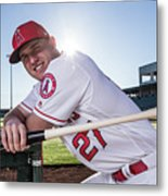 Mike Trout Metal Print