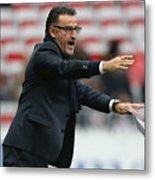 OGC Nice v AS Saint-Etienne - Ligue 1 Metal Print