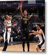 Play-In Tournament - San Antonio Spurs v Memphis Grizzlies Metal Print