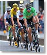 Cycling: 4th Tour de France Saitama Criterium 2016 Metal Print
