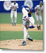 Dwight Gooden Metal Print