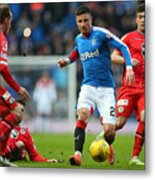 Rangers v St Mirren - Scottish Championship Metal Print