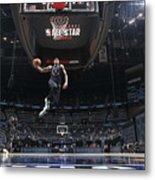 2021 NBA All-Star - AT&T Slam Dunk Contest Metal Print