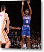 2021 NBA Playoffs - Atlanta Hawks v New York Knicks Metal Print
