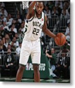 Khris Middleton Metal Print