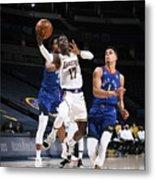Los Angeles Lakers v Denver Nuggets Metal Print