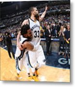 Mike Conley Metal Print