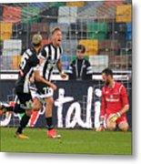 Udinese Calcio v Atalanta BC - Serie A Metal Print