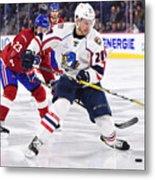 AHL: APR 06 Springfield Thunderbirds at Laval Rocket Metal Print