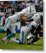 Miami Dolphins v San Diego Chargers Metal Print