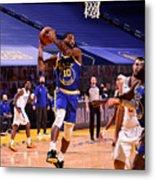 LA Clippers v Golden State Warriors Metal Print