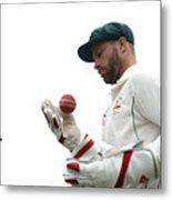 Bangladesh v Australia - 2nd Test: Day 4 Metal Print