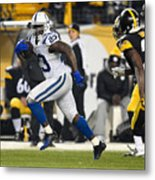 Indianapolis Colts v Pittsburgh Steelers Metal Print