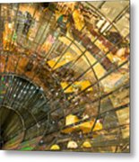 A Point of Convergency Metal Print