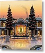 A Warm Home For The Holidays Metal Print