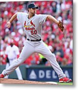 Adam Wainwright Metal Print
