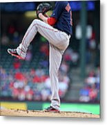 Adrian Beltre and Clay Buchholz Metal Print