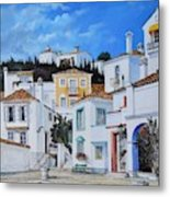 Afternoon Light In Montenegro Metal Print