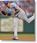 Alcides Escobar Metal Print