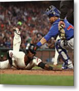 Alen Hanson and Willson Contreras Metal Print