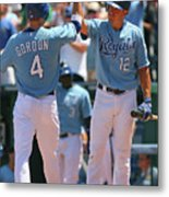 Alex Gordon and Mitch Maier Metal Print