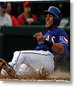 Alex Rios and Michael Mckenry Metal Print