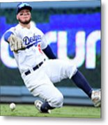 Alex Verdugo And Amed Rosario Metal Print
