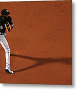 Alexei Ramirez and Rusney Castillo Metal Print