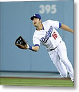 Andre Ethier and Chris Owings Metal Print