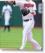 Andrew Romine and Jason Kipnis Metal Print