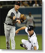 Andrew Romine and Seth Smith Metal Print