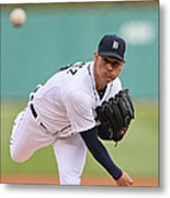 Anibal Sanchez Metal Print