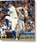 Anthony Rizzo And Derek Dietrich Metal Print