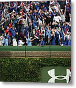 Anthony Rizzo And Jason Heyward Metal Print