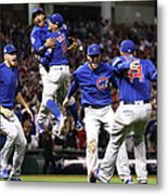Anthony Rizzo and Kris Bryant Metal Print