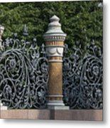 Architectural detail in Russia Metal Print
