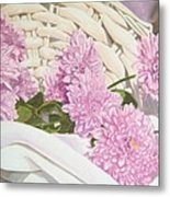 Floral Art Print For Sale Still Life Oil Painting  Metal Print