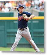 Asdrubal Cabrera And Torii Hunter Metal Print