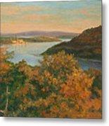 Autumn Hudson Highlands Metal Print