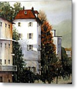 Banks Of The Rhine Metal Print