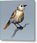 BB Bird Metal Print