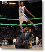 Ben Mclemore and Shaquille O'neal Metal Print