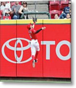 Ben Revere and Billy Hamilton Metal Print