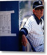 Billy Martin Metal Print
