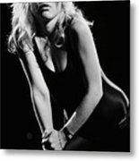 Blondie In Concert At The Whiskey Metal Print