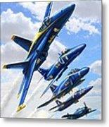 Blue Angels Heritage Metal Print