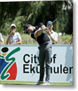 BMW South African Open Championship - Previews Metal Print