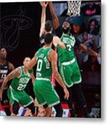 Boston Celtics v Miami Heat - Game Three Metal Print
