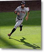 Brandon Crawford and Brandon Belt Metal Print