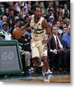 Brandon Jennings Metal Print